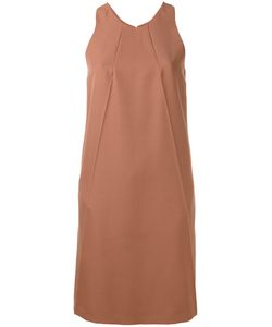 Nina Ricci | Plain Fla Dress 38 Silk/Wool