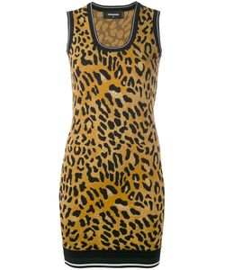 Dsquared2 | Animal Print Mini Dress