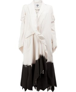 AGANOVICH | Asymmetric Midi Coat 36 Cotton