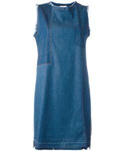 Semicouture | Denim Sleeveless Dress Size 40