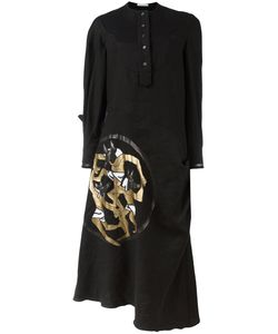 J.W. Anderson   J.W.Anderson Anubis Print Shirt Dress Size