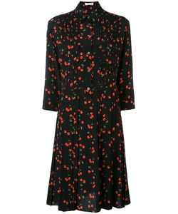 Chinti And Parker | Cherry Pleated Shirt Dress