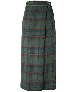 Massimo Alba | Plaid Wrap Skirt