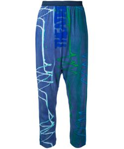 Theatre Products   Printed High Waisted Trousers