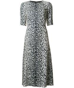 Saint Laurent | Animal-Print Dress 38 Silk/Viscose