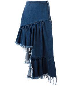 Marques Almeida | Marquesalmeida Asymmetric Denim Skirt 8