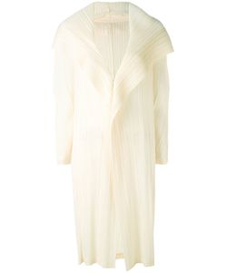 PLEATS PLEASE BY ISSEY MIYAKE | Shawl Lapel Pleated Coat