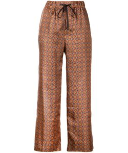 ASTRAET | Tile Print Trousers Women 0