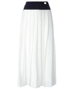 Victoria, Victoria Beckham | Victoria Victoria Beckham Pleated Midi Skirt Size 10