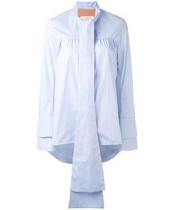 SSHEENA | Oversize Tie Blouse M