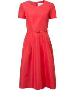 Carolina Herrera | Trumpet Dress 2 Silk/Wool