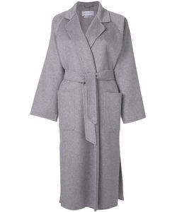 Max Mara | Удлиненное Пальто Под Пояс