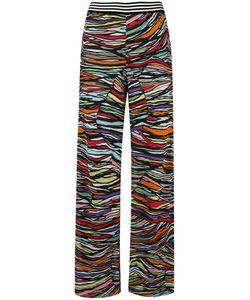 Missoni | Knitted Wide-Leg Trousers 40 Cotton/Rayon/Silk/Spandex/Elastane