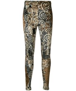 Kenzo | Vintage Printed Velvet Leggings Size Medium