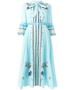 Temperley London | Embroide Maxi Dress 10 Cotton