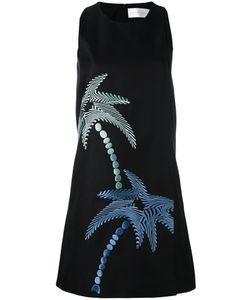 Victoria, Victoria Beckham | Платье С Принтом Пальм