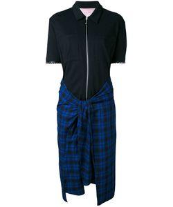 Alyx | Платье-Рубашка С Клетчатой Юбкой