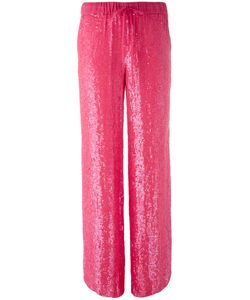 P.A.R.O.S.H. | Sequin Trousers Medium Viscose/Pvc
