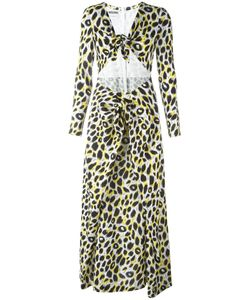 Moschino | Leopard Print Maxi Dress 42 Rayon/Other Fibers