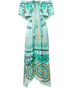Temperley London | -Print Off-Shoulders Dress 6 Silk