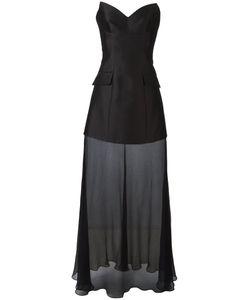 Stella Mccartney   Corset Mesh Gown