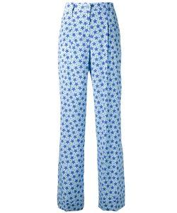 P.A.R.O.S.H. | P.A.R.O.S.H. Star Print Flared Trousers Medium