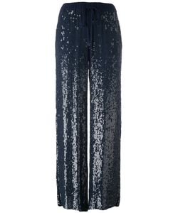 P.A.R.O.S.H. | Sequins Fla Trousers Medium Viscose/Polyester