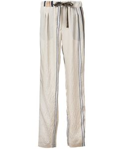 Roberto Collina | Striped Trousers Size Medium