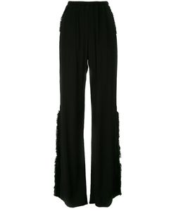 Raquel Allegra | Frayed Flared Trousers