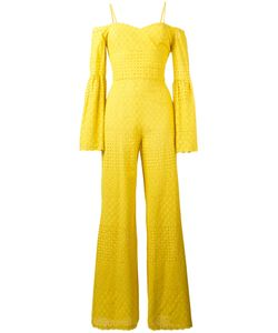 Daizy Shely   Perforated Detail Jumpsuit 40 Cotton