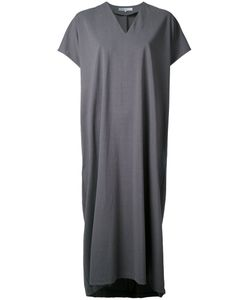 08SIRCUS | V Neck Jersey Dress 36 Cotton