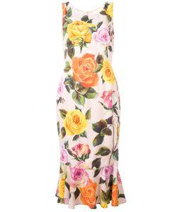 Dolce & Gabbana | Print Dress 38 Viscose/Silk/Spandex/Elastane