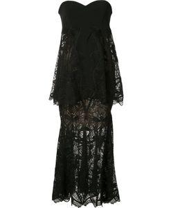 Jonathan Simkhai   Strapless Layered Dress Size