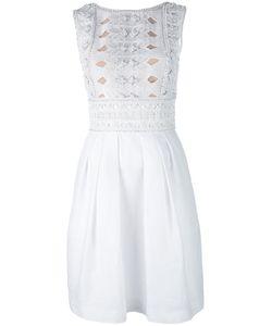 Alberta Ferretti | Декорированное Платье Без Рукавов