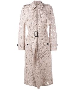 Burberry | Lace Trench Coat Size 8