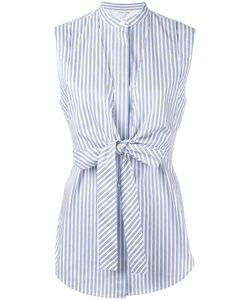 Helmut Lang | Sleeveless Striped Shirt