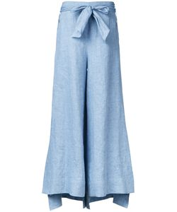 DEMOO PARKCHOONMOO | Belted Fla Trousers 36 Linen/Flax