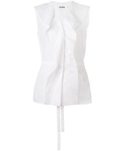 Jil Sander | Рубашка С Оборками Спереди
