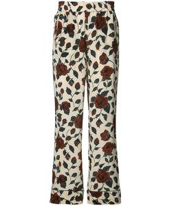 Ganni | Print Trousers 38 Silk