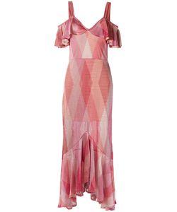 CECILIA PRADO | Ruffled Gown P