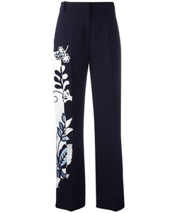 Victoria, Victoria Beckham | Victoria Victoria Beckham Print Trousers 8 Silk/Polyester/Acrylic