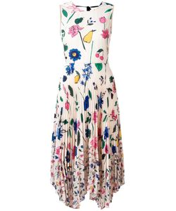 Markus Lupfer | Fruit Blossom Pleated Ella Dress