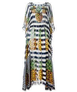 Dolce & Gabbana | Pineapple Striped Dress 38
