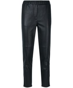 OUTSOURCE IMAGES | Elasticated Waistband Cropped Trousers