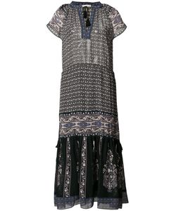 Ulla Johnson | V-Neck Midi Dress 4 Polyester/Silk