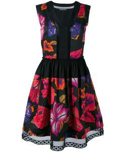 Alberta Ferretti | Printed Sleeveless Shift Dress