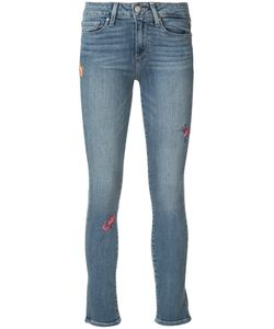 Paige | Embroidered Hoxton Jeans Size 27