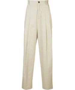 Icosae | Pleated Front Trousers Small Cotton