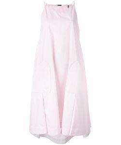 Jil Sander Navy | Side Pockets Flared Dress
