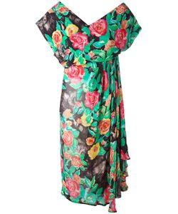 Christian Dior Vintage | Print Dress 46